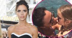 Victoria beckham slammed kissing daughter mouth HERO