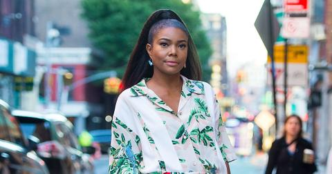 Gabrielle Union Floral Outfit Book Tour Rape Harvey Weinstein Photos hero