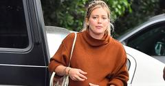 Hilary duff pregnant frustrated baby bump pic main