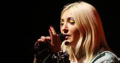 Julia Michaels preforms live in Milano, Italy
