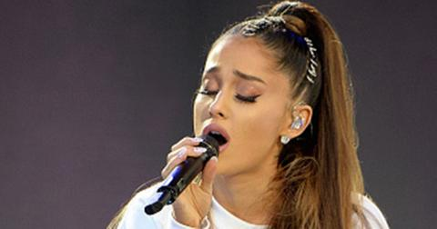 Ariana grande performs manchester benefit feature