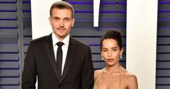 Zoe Kravitz And Karl Glusman Paris Wedding