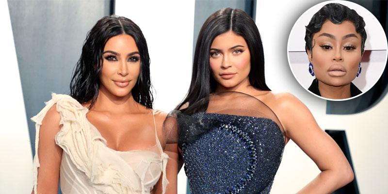 Did Kim Kardashian & Kylie Jenner Have A Run-In With Blac Chyna At The 2020 Oscars?