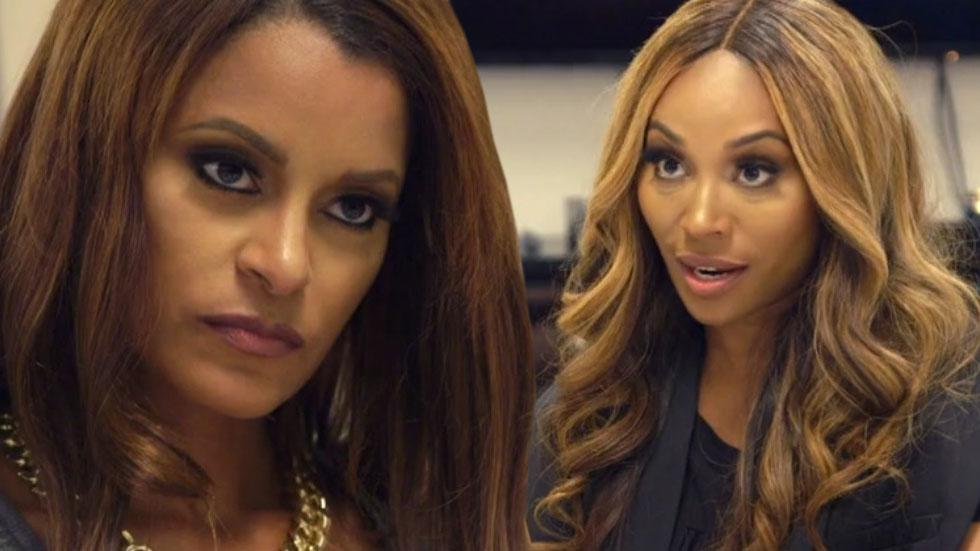 Cynthia Bailey Advises Claudia Jordan On Career
