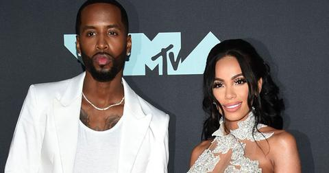 Safaree Samuels Erica Mena Red Carpet Pregnant Expecting Baby