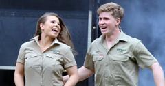 Bindi and Robert irwin
