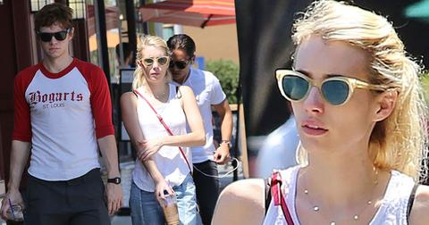 emma roberts evan peters dating back together