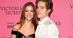 Dylan sprouse barbara palvin burgers victorias secret fashion show