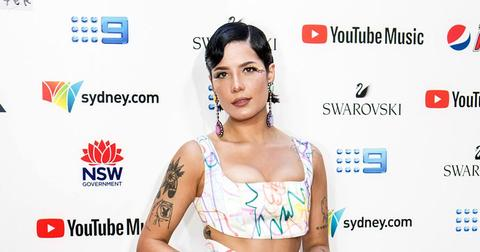 Halsey On Red Carpet