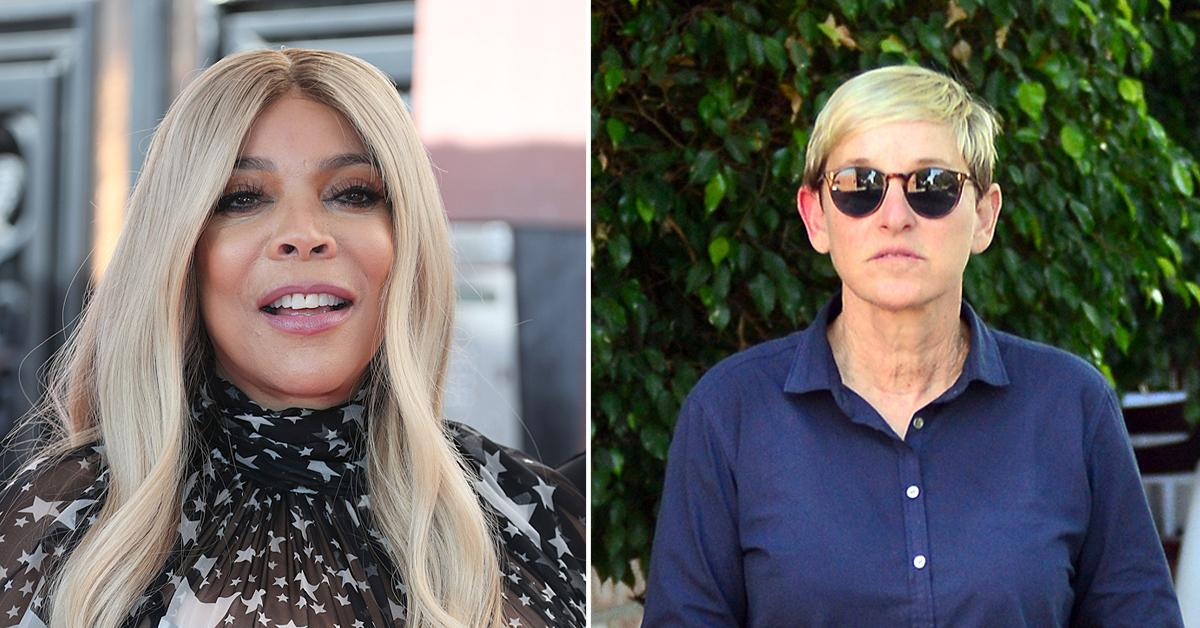 wendy williams slams ellen degeneres reasoning end show  seasons toxic workplace scandal