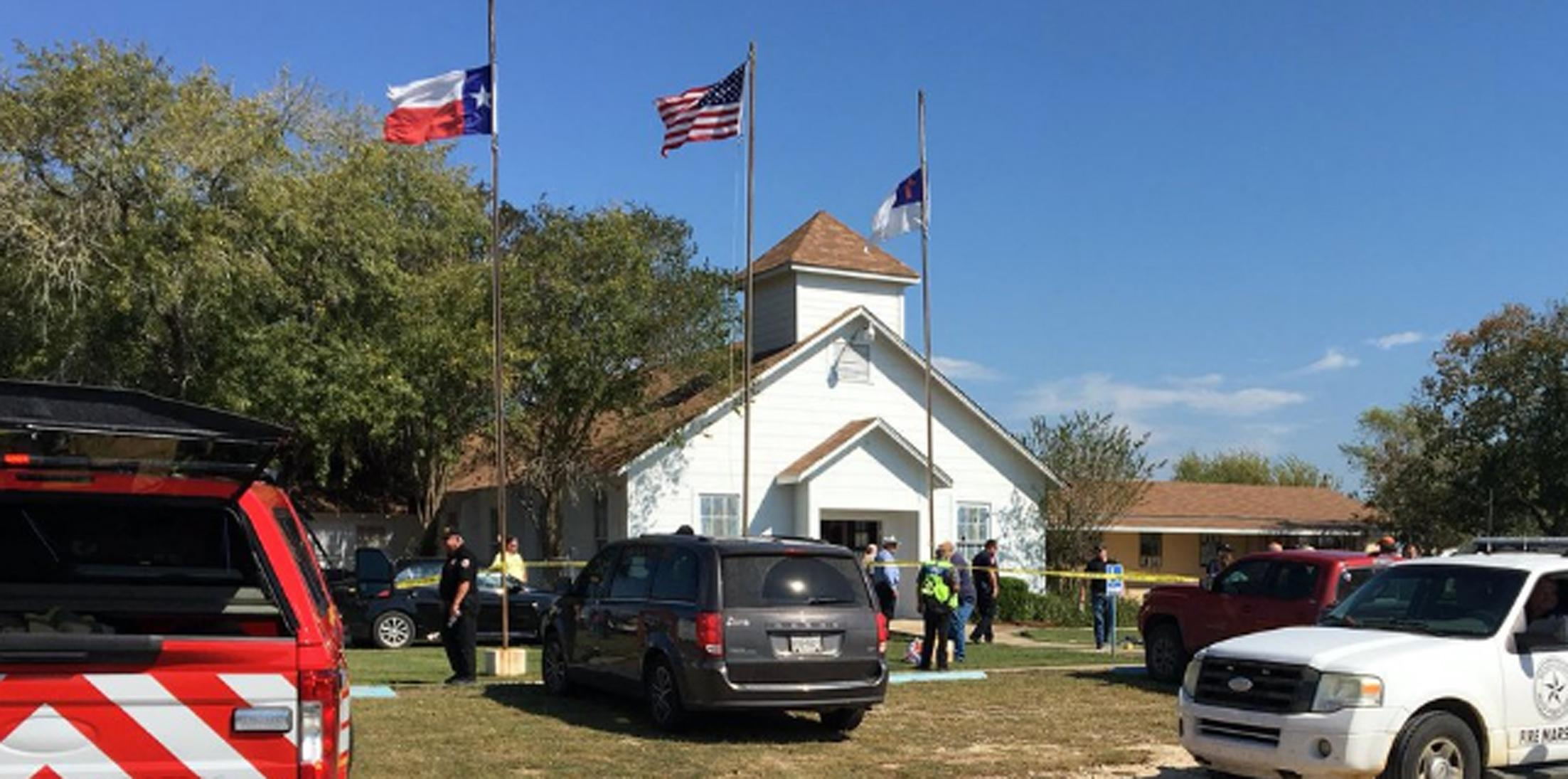 Mass shooting baptist church sutherland springs hero