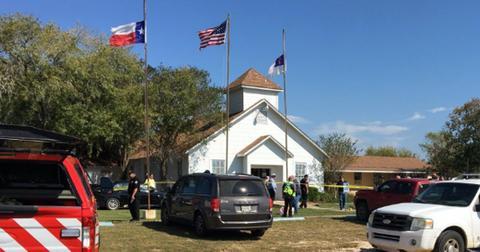 Mass shooting baptist church sutherland springs hero
