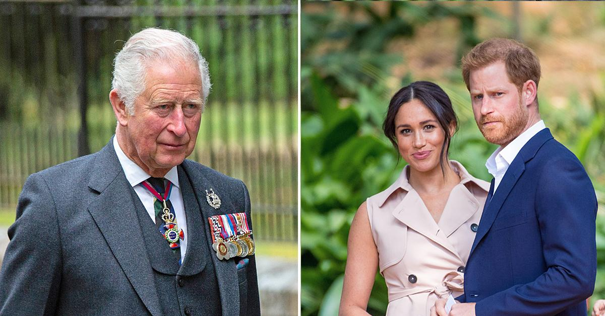 prince charles plan save costs ditch prince harry meghan markle royal family
