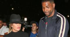 Khloe Kardashian and Tristan Thompson exit The Nice Guy to Lure