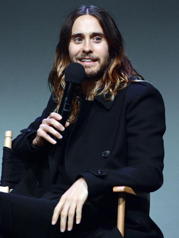 "Jared Leto appears at the Apple Store in SoHo, NYC to promote his new film ""Artifact"" at Meet the Filmmaker"