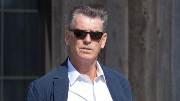 Pierce brosnan lunch date with wife keely shaye smith