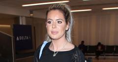 Brielle Biermann At The Airport