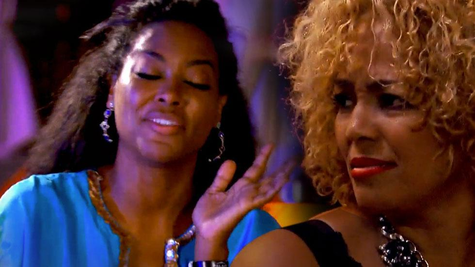 Kim Fields Curses Out Kenya Moore