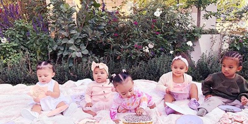 Kardashian kids post pic