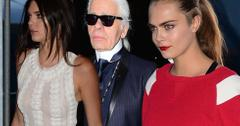 Kendall jenner cara delevingne party karl lagerfeld boat cruise