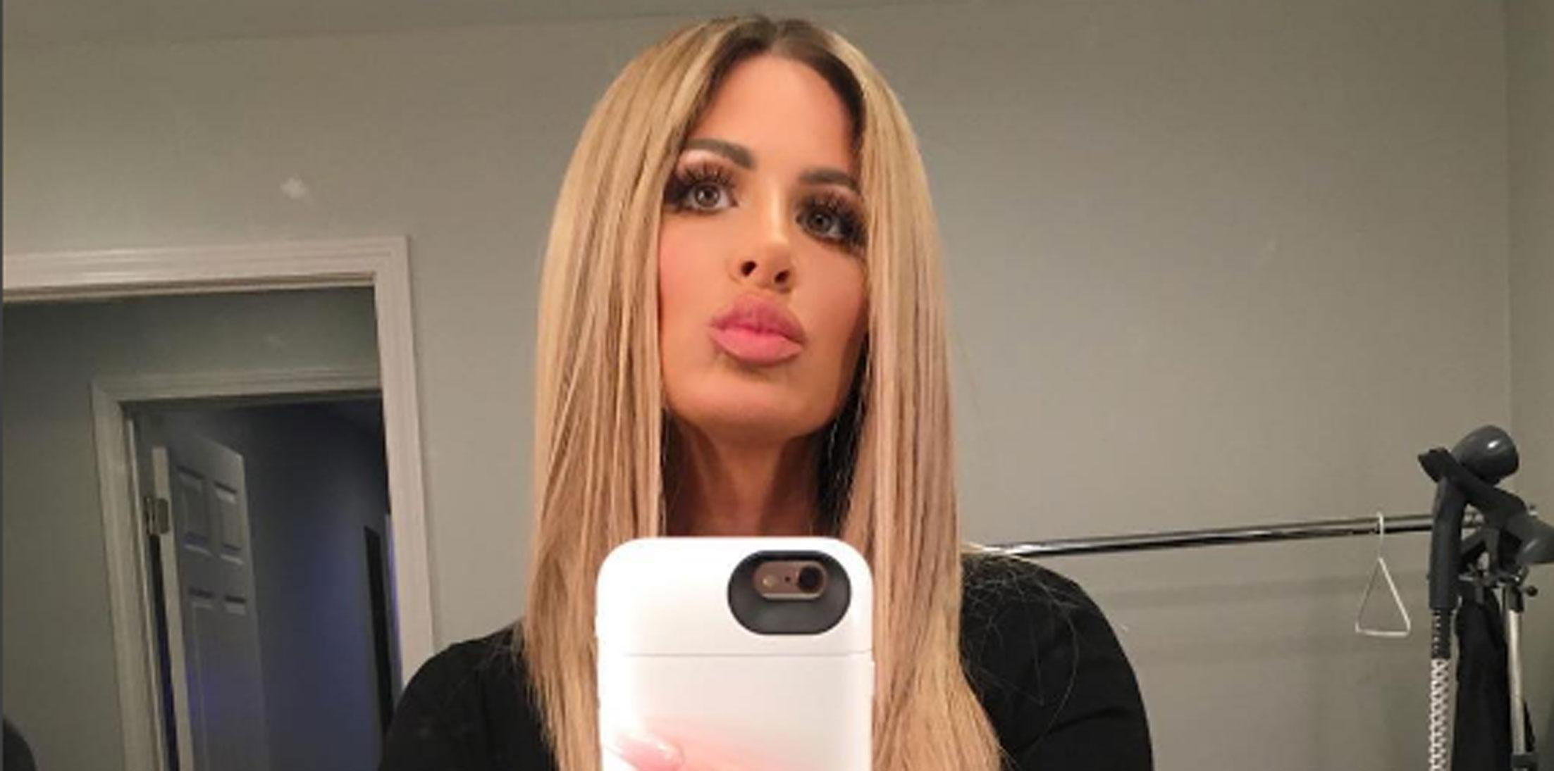 Kim Zolciak Biermann Topless Photo Long