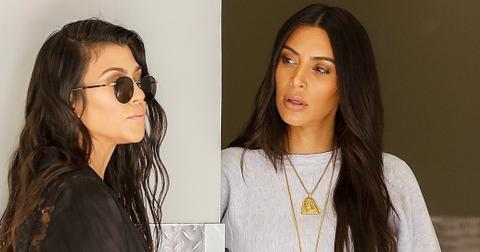 Kim Kardashian supports Kourtney and Mason at his art class with Jonathan Cheban