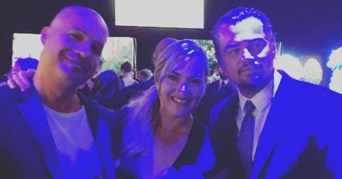 Titanic Reunion Leonardo DiCaprio Kate Winslet Billy Zane Long