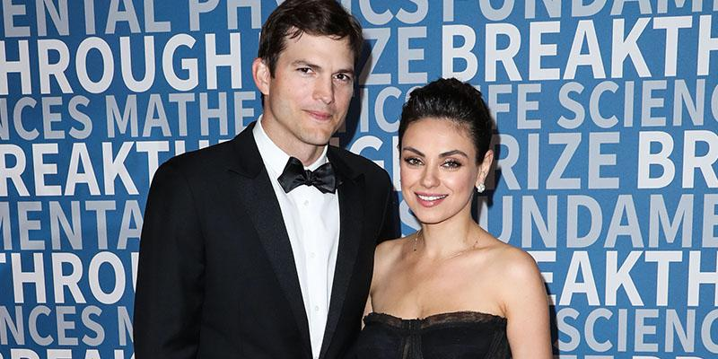 Ashton kutcher mila kunis breakthrough prize ceremony pics