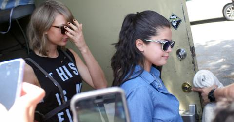 Taylor Swift and Selena Gomez in Hollywood