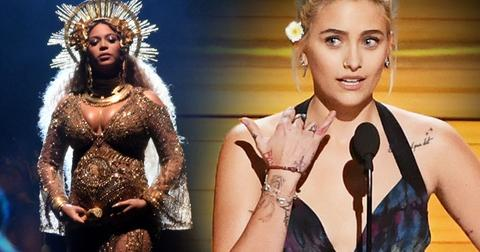 Paris jackson beyonce grammys awards 2017 pp