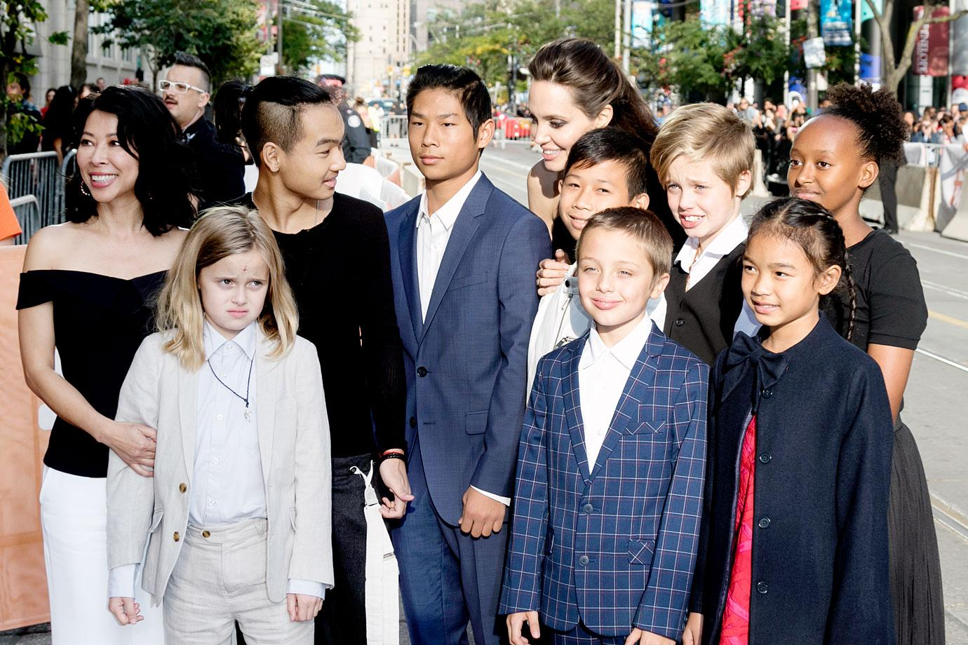 Brad Pitt 'Tormented' Over Losing Time With Kids Amid Angelina Jolie  Custody War
