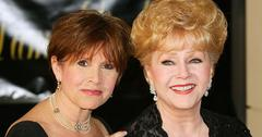 Debbie reynolds carrie fisher burial plans funeral revealed hr