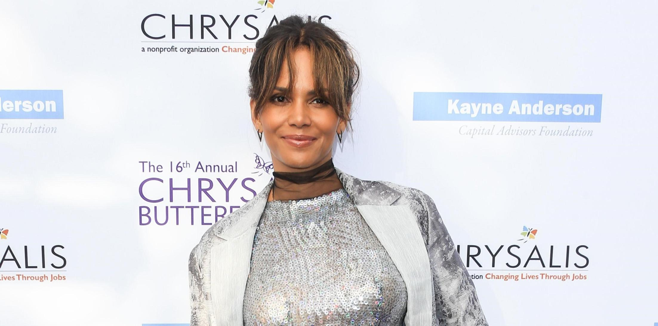 Halle Berry shines at the 16th Annual Chrysalis Butterfly Ball