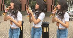 Camila Cabello Buys Fans Ice Cream In New York City