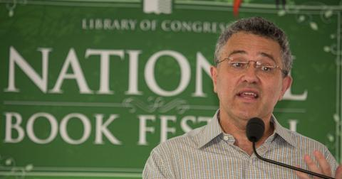 Jeffrey Toobin speaks at the National Book Festival in Washington D.C.
