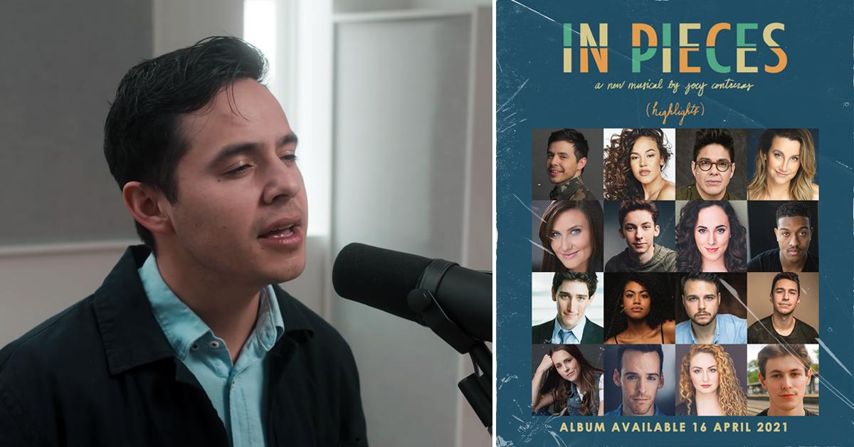david archuleta broadway stars joey contreras in pieces album