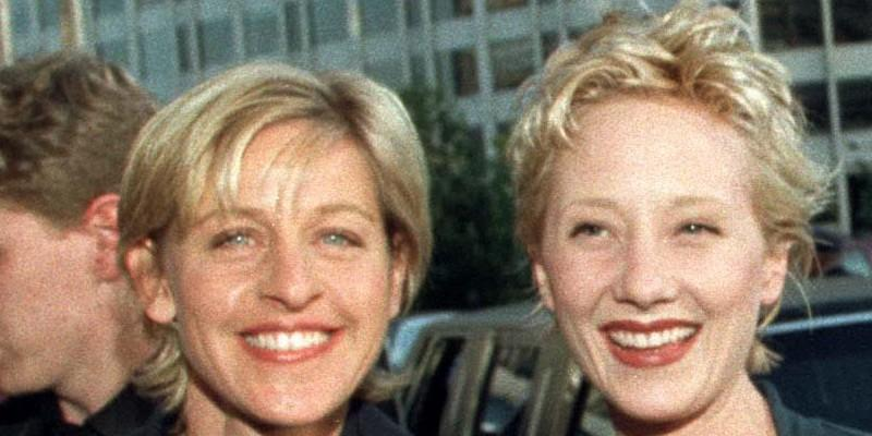 Anne Heche With Ellen DeGeneres
