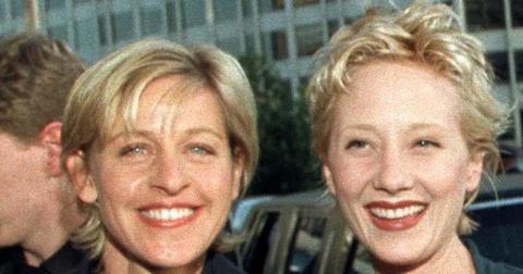 Anne Heche With Ellen DeGeneres