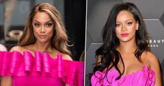 Rihanna & Tyra Banks