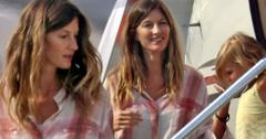 Gisele bunchen plastic surgery face spotted
