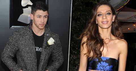 Nick jonas new girlfriend angela sarafyan