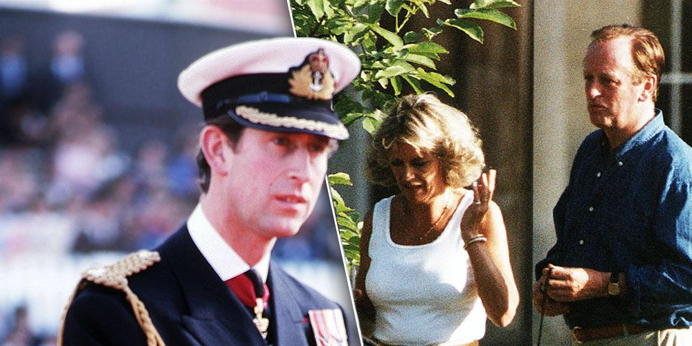 Prince Charles split with Camilla and Andrew Parker-Bowles