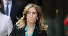 Felicity Huffman Outside Court REELZ College Admissions Scandal Special