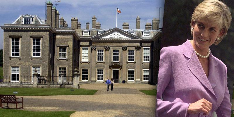 Princess Diana's Childhood Home Althorp House Is Now Open For Visits