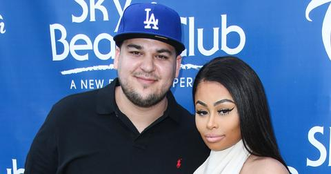 Blac Chyna and Rob Kardashian Host Memorial Day Weekend Party at Sky Beach Club at Tropicana Las Vegas