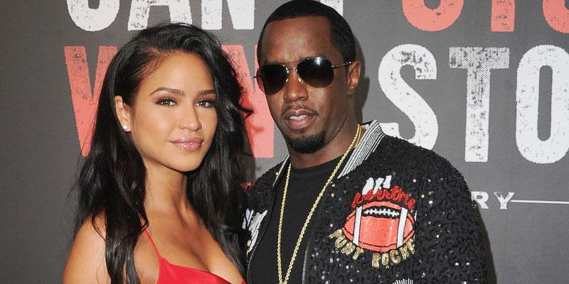 Diddy And Cassie Pose Together On Red Carpet