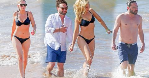 Johnny galecki shirtless girlfriend ariella nicole