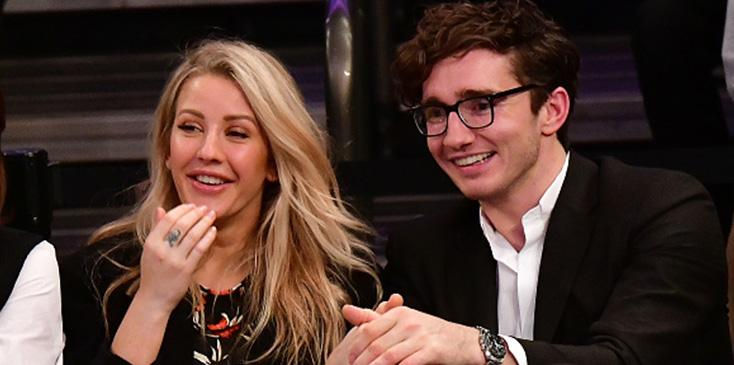 Ellie goulding engaged to boyfriend caspar jopling