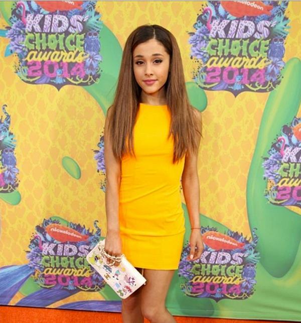 Ariana grande kids choice awards