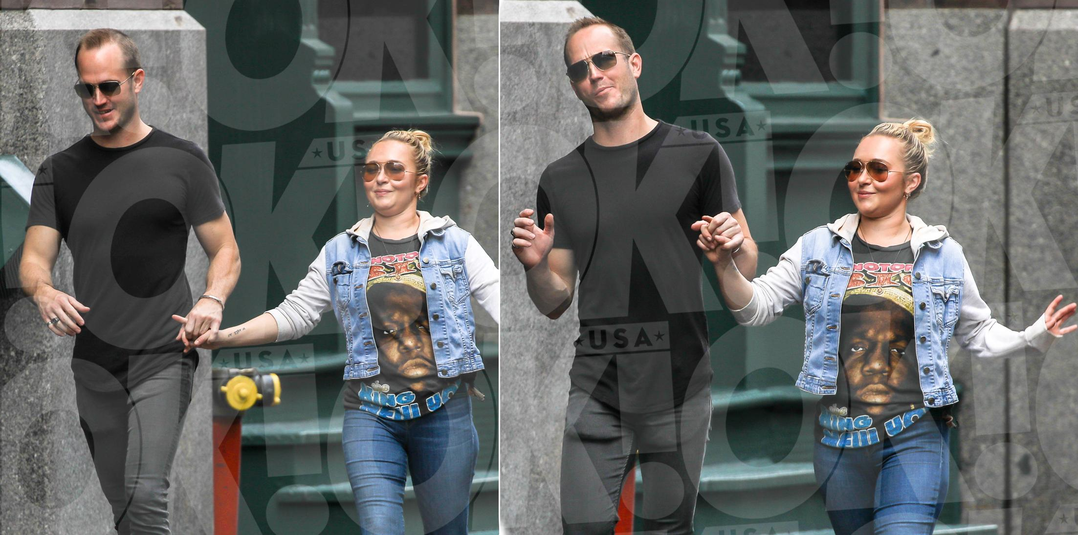 Hayden Panettiere boyfriend's brother Hold Hands